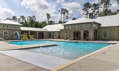 Pool, Grove Park Apartments, 1