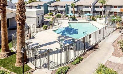 Pool, Azura Apartments, 0