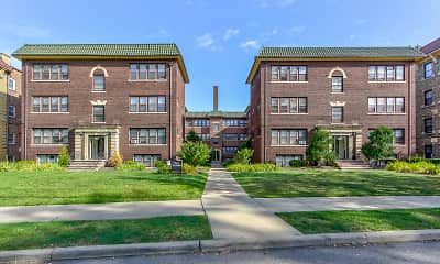 Building, Cleveland Heights/University Circle Area Apartments, 0