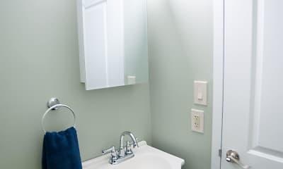 Bathroom, Madison Towers, 2
