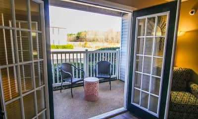 Patio / Deck, The Colony Apartment Homes, 2