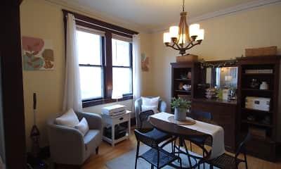 Dining Room, Saxony Apartments, 0