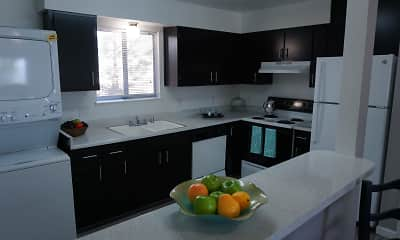 Kitchen, Reno Vista Apartments, 1