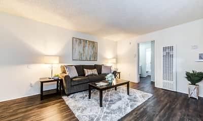 Living Room, The Pavillion Apartments, 1