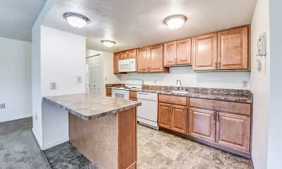 Kitchen, North Pointe Commons, 1