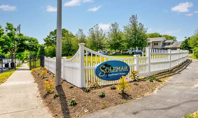Community Signage, Solemar at South Dartmouth, 0