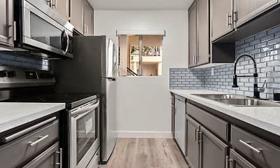 Kitchen, Riverbridge Apartments, 1