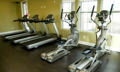 Fitness Weight Room, West Field Place Apartments and Castle Rock Homes, 1