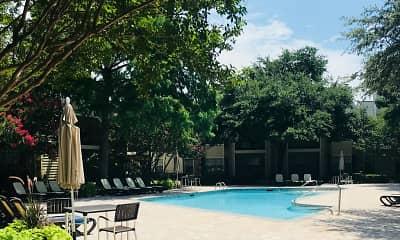 Pool, Centre Oaks, 1