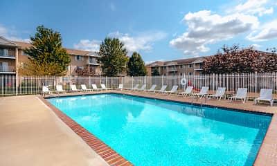 Pool, Sunridge Apartments, 0