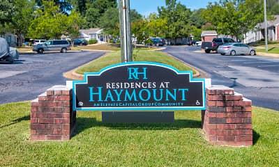 Community Signage, Residences at Haymount, 2
