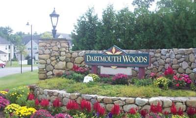 Community Signage, Dartmouth Woods, 2