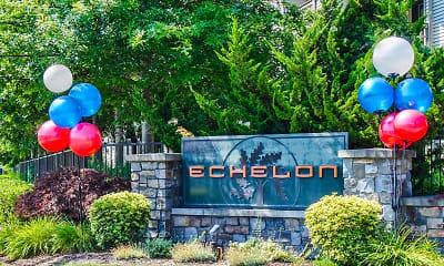 Community Signage, Echelon Apartments, 2