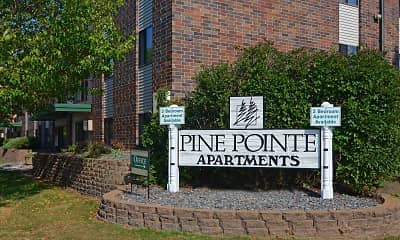 Community Signage, Pine Pointe Apartments, 2