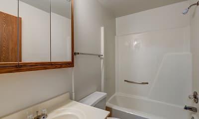 Bathroom, Park Place Apartments, 2