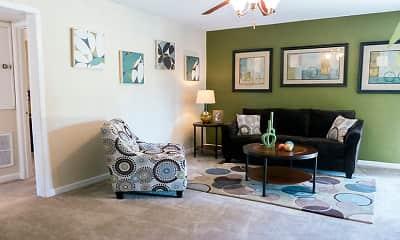 Living Room, Willow Gardens, 0