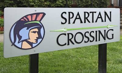 Community Signage, SPARTAN CROSSING - LEASED BY THE BED, 2