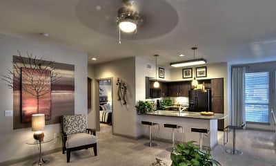 Living Room, 77067 Luxury Properties, 2