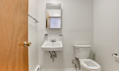 Bathroom, Sleeping Giant Apartments, 2