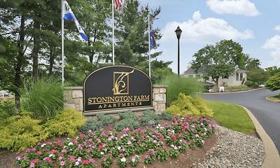 Community Signage, Stonington Farm Apartments, 0