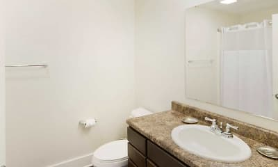 Bathroom, Heron Corporate Housing, 2