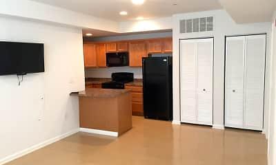 Kitchen, Stafford Apartments - Student Housing, 0