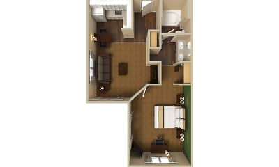 Furnished Studio - Indianapolis - Airport - W. Southern Ave., 2