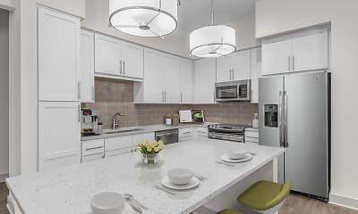 Kitchen, Camden Carolinian, 1