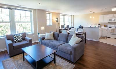 Living Room, Residences at Forest Park, 2