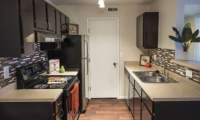 Kitchen, Parkview Apartments, 1