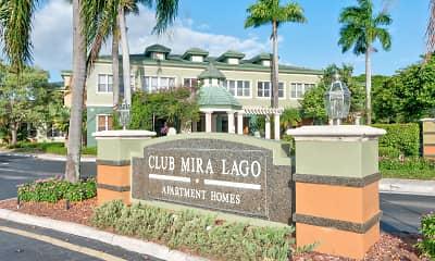 Community Signage, Club Mira Lago, 2
