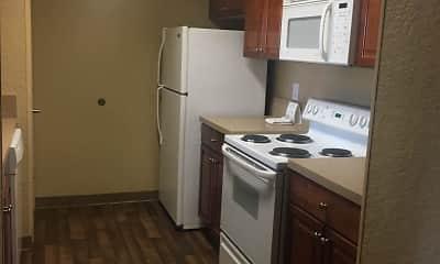 Kitchen, Furnished Studio - Jacksonville - Deerwood Park, 1