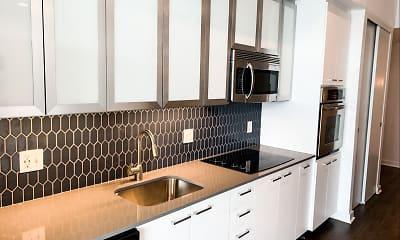 Kitchen, Infinity Lofts in the Gulch, 1