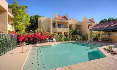Pool, El Diablo Apartments, 0