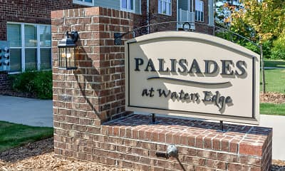 Community Signage, Palisades at Waters Edge, 1