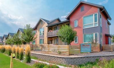 Building, Baseline Village Apartments, 0