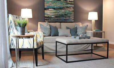 Living Room, Palmilla Apartments, 1