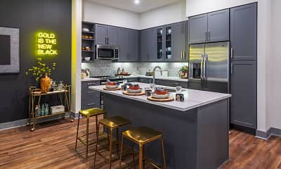 Kitchen, Broadstone on Fifth, 0