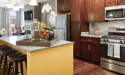 Kitchen, Creekstone Village Apartments, 1