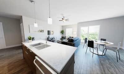 Kitchen, 400 Element Apartments, 0