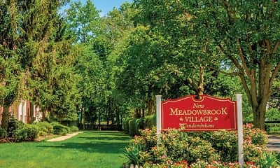 Community Signage, New Meadowbrook Village, 0
