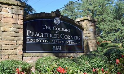 Community Signage, The Columns at Peachtree Corners, 2