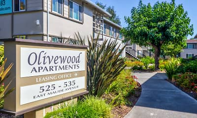 Community Signage, Olivewood, 2