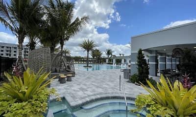 Pool, Edge 75 Watermark Apartments, 2