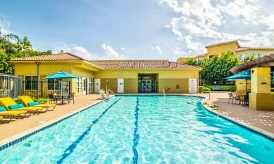 Pool, Tesoro Senior Apartments, 1