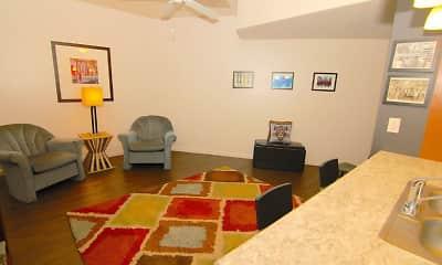 Living Room, Englewood Lofts, 1