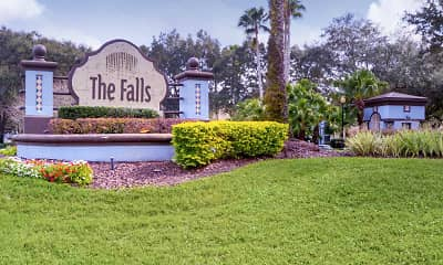 Community Signage, The Falls at New Tampa, 2