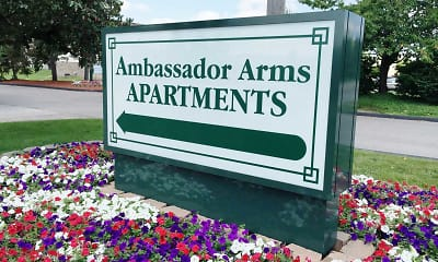 Landscaping, Ambassador Arms Apartments, 2
