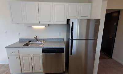 Kitchen, Riverview West Apartments, 0