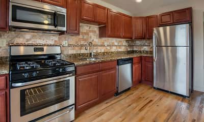 Kitchen, Franklin Manor Apartments, 1